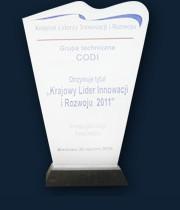 krajowy lider innowacji i rozwoju 2011
